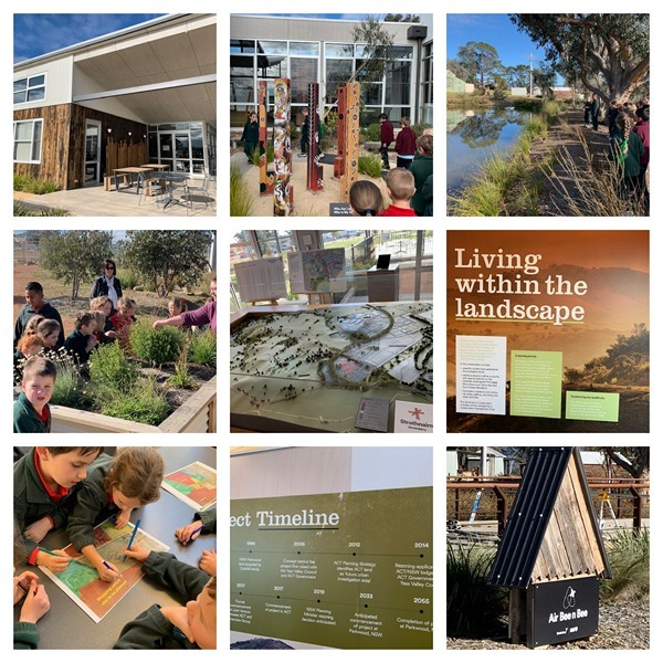 Ginninderry collage